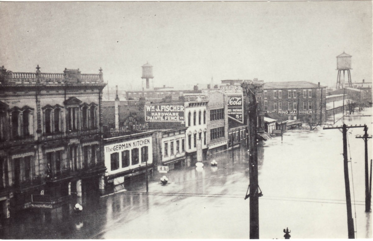 The historic 1913 Flood