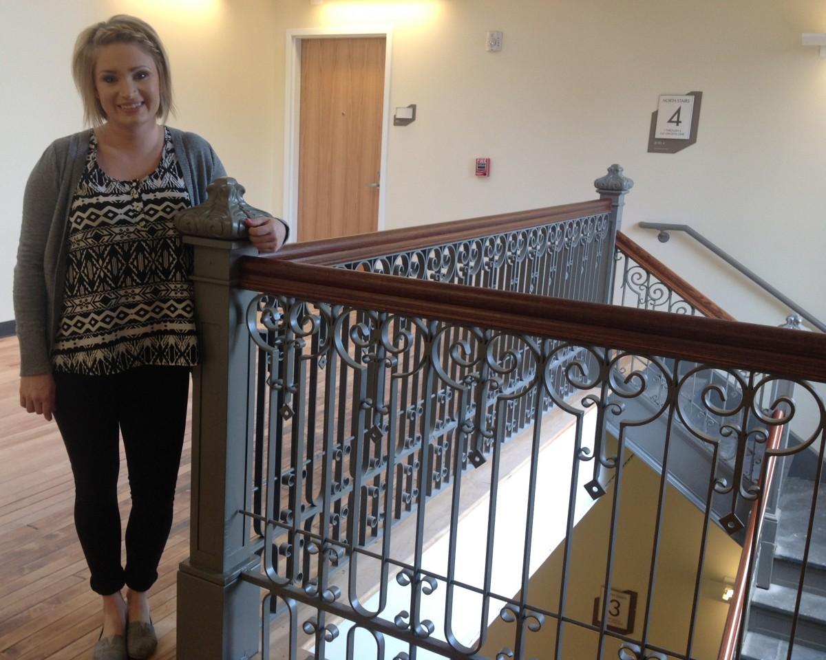 artspace lofts stairwell 2015