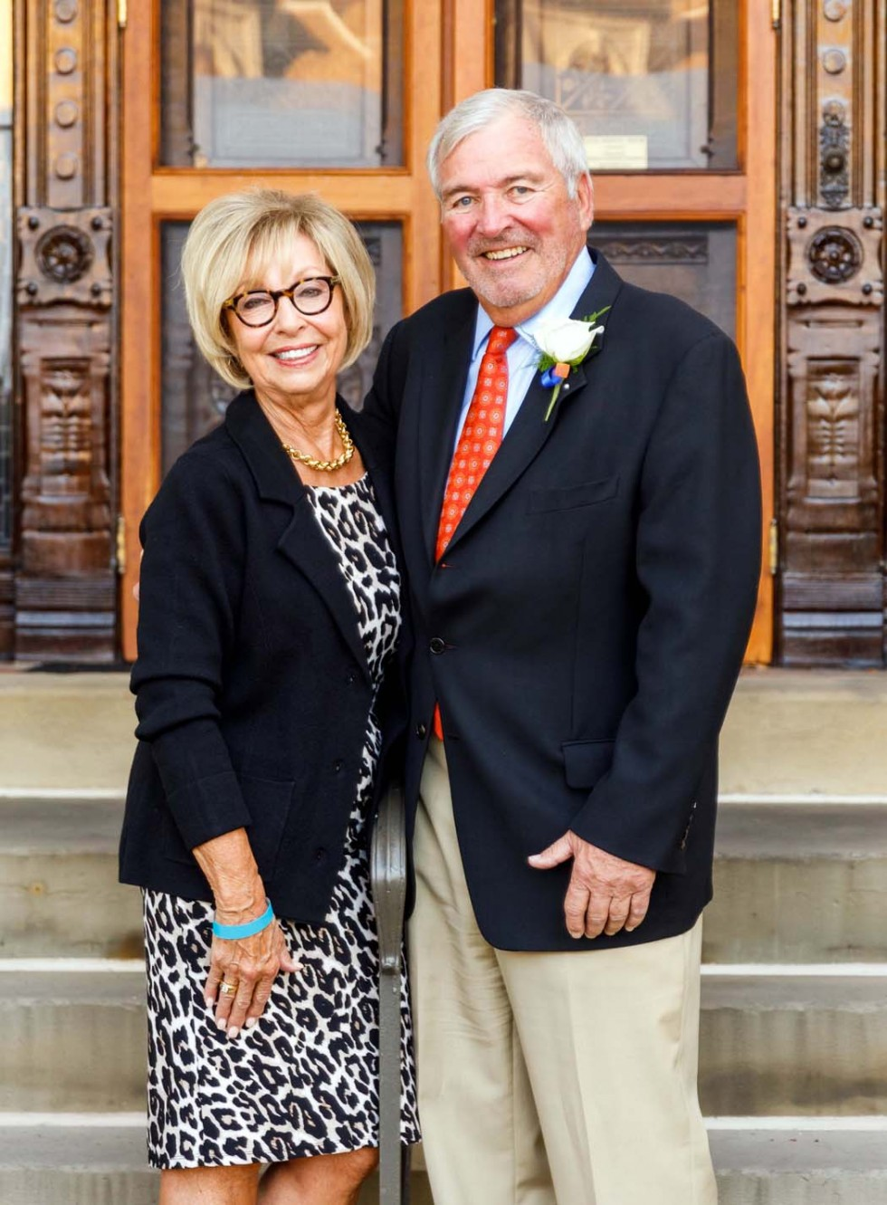 Karen and Jack Whalen receive David L. Belew Legacy Award